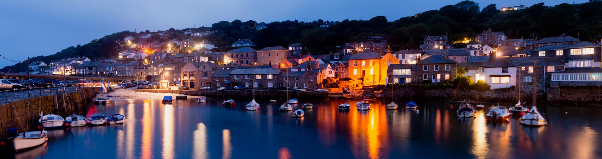 night time rent luxury cottage cornwall